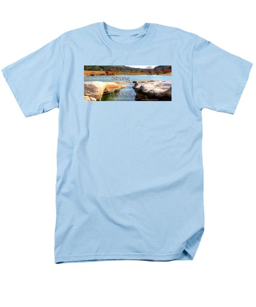 Strength Multiplied Men's T-Shirt  (Regular Fit) by David Norman