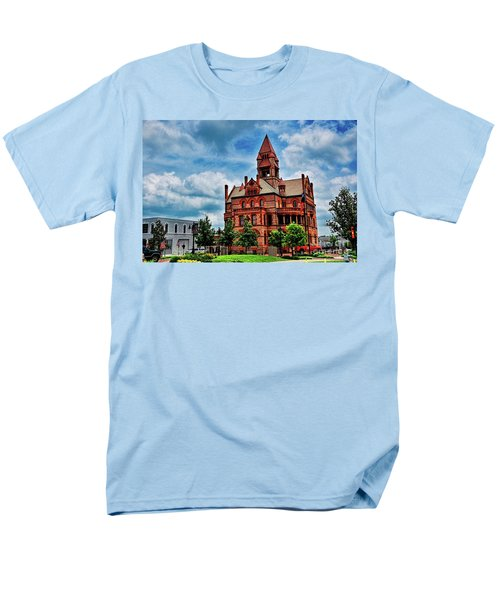 Sulphur Springs Courthouse Men's T-Shirt  (Regular Fit) by Diana Mary Sharpton