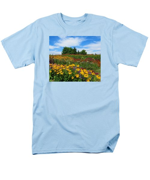 Summer Flowers In Pa Men's T-Shirt  (Regular Fit) by Jeanette Oberholtzer