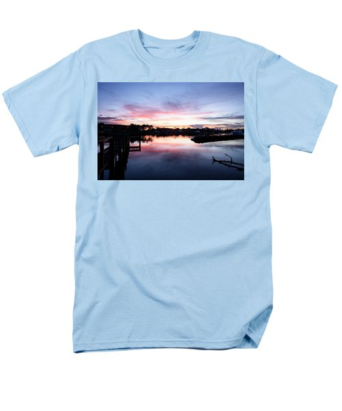 Men's T-Shirt  (Regular Fit) featuring the photograph Summer House by Laura Fasulo
