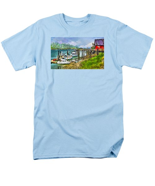 Summer In La'conner Men's T-Shirt  (Regular Fit) by Dale Stillman