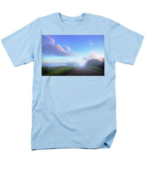 Summer Morning In Alberta Men's T-Shirt  (Regular Fit) by Dan Jurak