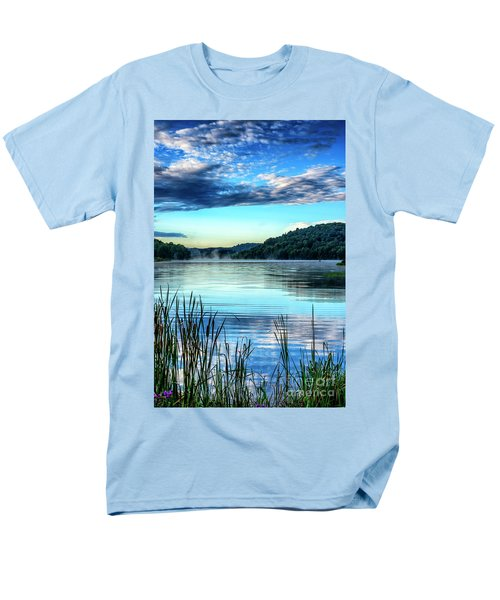 Summer Morning On The Lake Men's T-Shirt  (Regular Fit) by Thomas R Fletcher