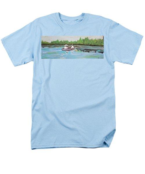 Summer Rowing Men's T-Shirt  (Regular Fit)