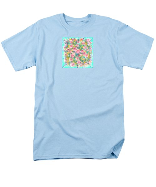 Men's T-Shirt  (Regular Fit) featuring the painting Summer Scarf by Jean Pacheco Ravinski