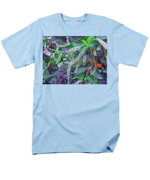 Men's T-Shirt  (Regular Fit) featuring the photograph Summer White by Kathie Chicoine