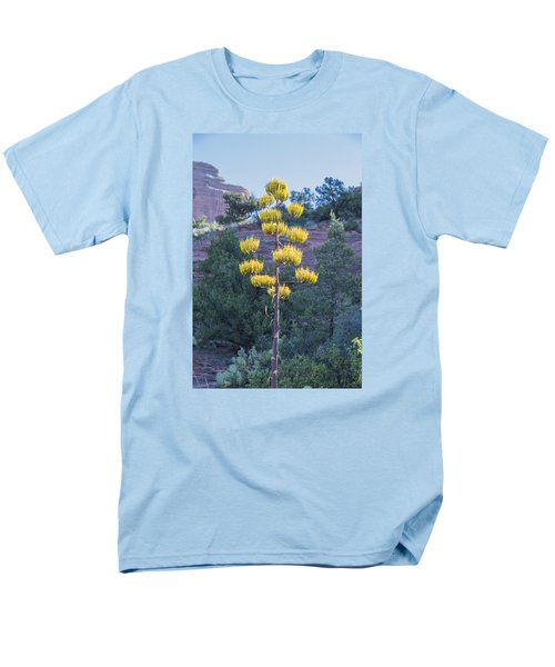 Sun Brightened Century Plant Men's T-Shirt  (Regular Fit) by Laura Pratt