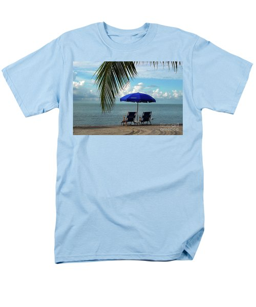 Sunday Morning At The Beach In Key West Men's T-Shirt  (Regular Fit)
