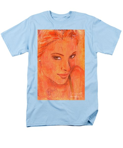 Men's T-Shirt  (Regular Fit) featuring the painting Sunday by P J Lewis