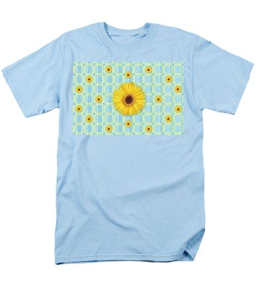 Sunflower Pattern Men's T-Shirt  (Regular Fit)