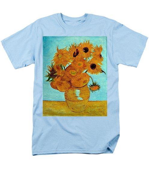Sunflowers Men's T-Shirt  (Regular Fit) by Henryk Gorecki
