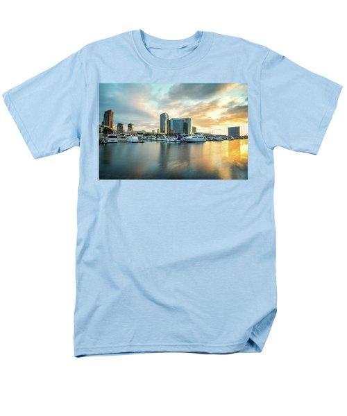 Sunrise At Embarcadero Men's T-Shirt  (Regular Fit) by Joseph S Giacalone