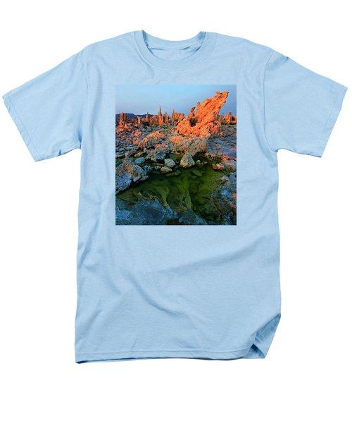 Sunrise On Tufa 2 Men's T-Shirt  (Regular Fit) by Sean Sarsfield