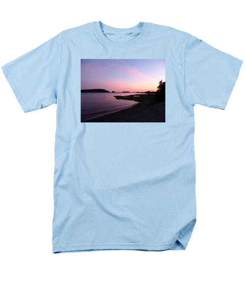 Sunset At Five Islands Men's T-Shirt  (Regular Fit) by Joel Deutsch