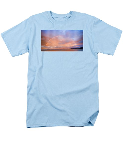 Sunset Rainbow Men's T-Shirt  (Regular Fit) by Steve Siri