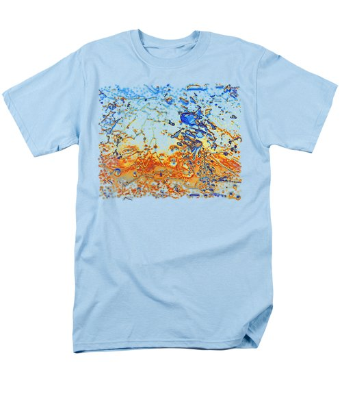 Men's T-Shirt  (Regular Fit) featuring the photograph Sunset Walk by Sami Tiainen