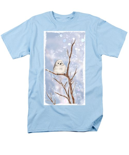 Men's T-Shirt  (Regular Fit) featuring the painting Sweet Cold by Veronica Minozzi