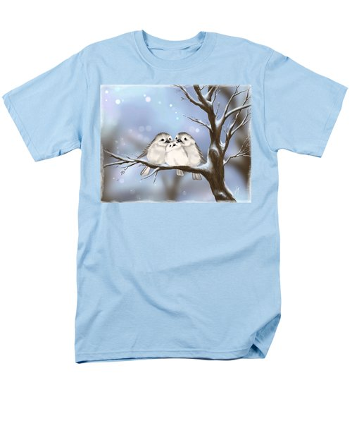 Men's T-Shirt  (Regular Fit) featuring the painting Sweet Family by Veronica Minozzi