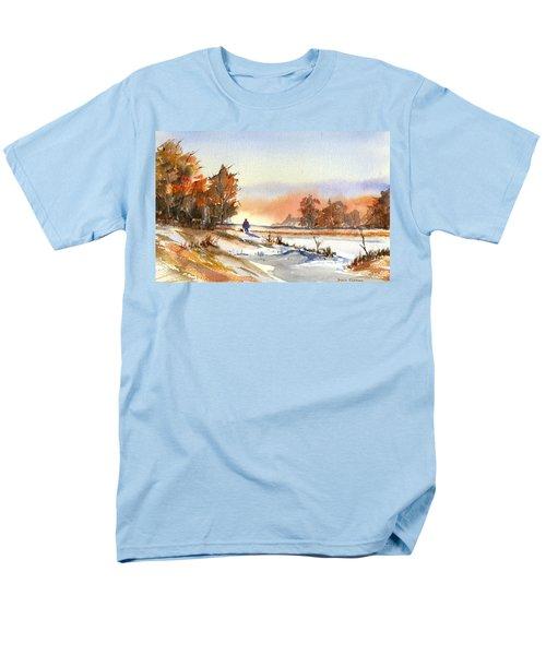 Taking A Walk Men's T-Shirt  (Regular Fit) by Debbie Lewis