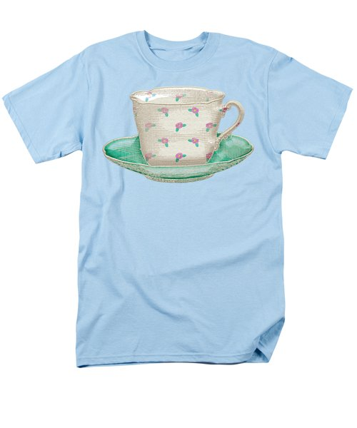 Teacup Garden Party 2 Men's T-Shirt  (Regular Fit) by J Scott