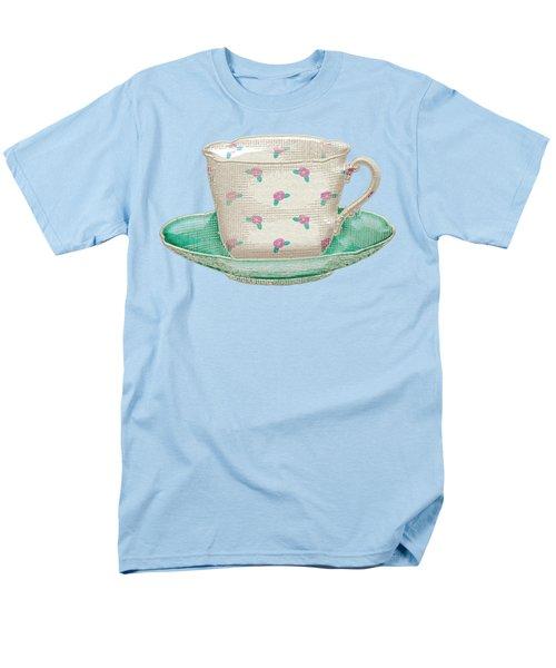 Teacup Garden Party 2 Men's T-Shirt  (Regular Fit)