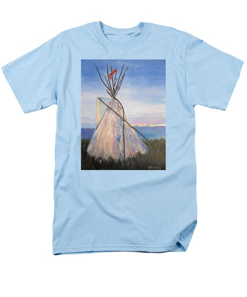 Teepee Dawn Men's T-Shirt  (Regular Fit) by Kathryn Barry