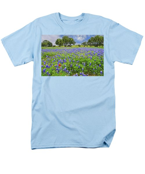 Texas Spring  Men's T-Shirt  (Regular Fit) by Lynn Bauer