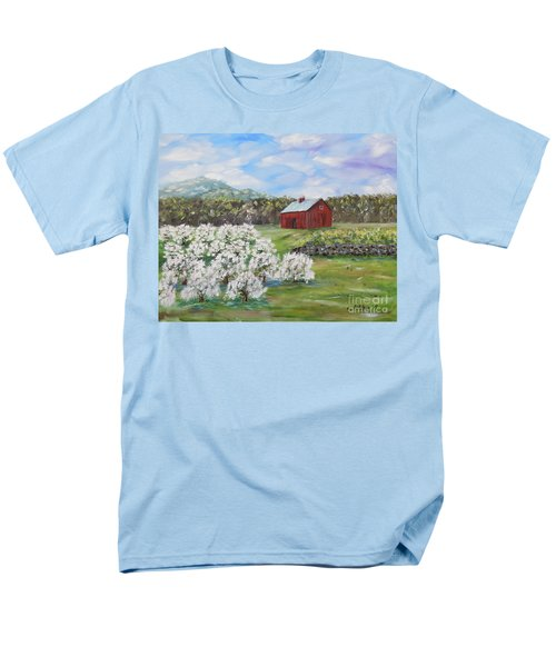 The Apple Farm Men's T-Shirt  (Regular Fit) by Stanton Allaben