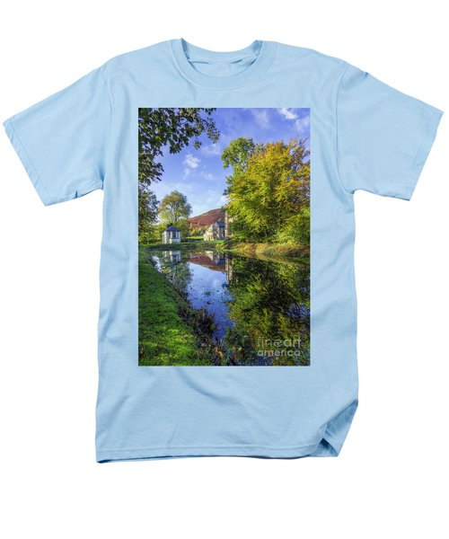 The Autumn Pond Men's T-Shirt  (Regular Fit) by Ian Mitchell