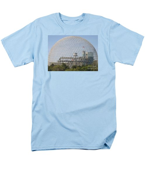 The Biosphere  Ile Sainte-helene Montreal Quebec Men's T-Shirt  (Regular Fit) by Reb Frost