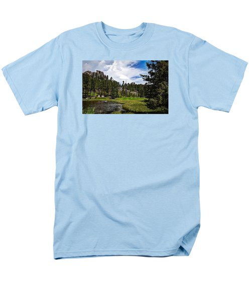 Men's T-Shirt  (Regular Fit) featuring the photograph The Black Hills Of Custer State Park by Deborah Klubertanz