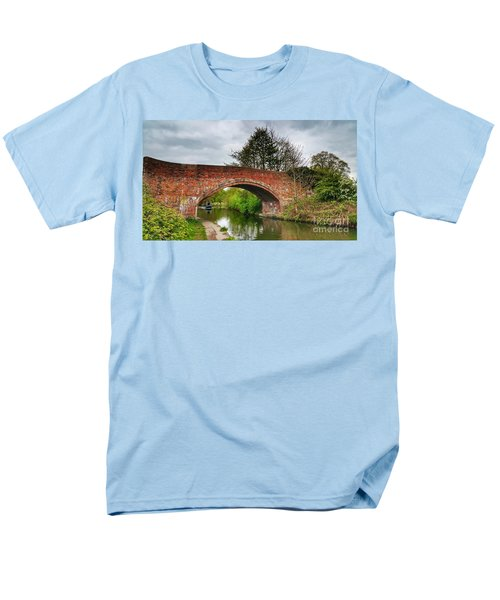 The Bridge Men's T-Shirt  (Regular Fit) by Isabella F Abbie Shores FRSA