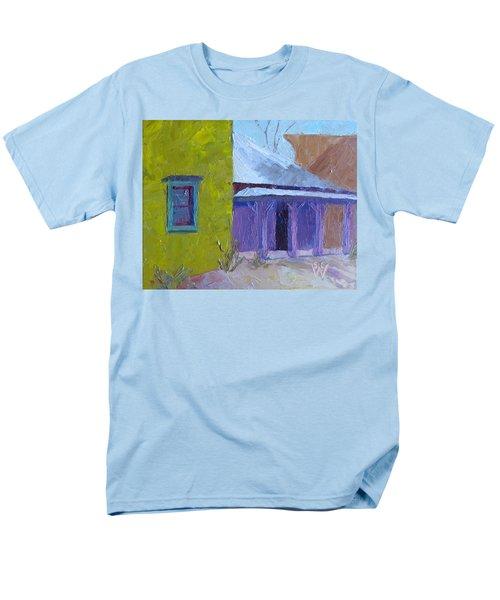 The Color Purple Men's T-Shirt  (Regular Fit) by Susan Woodward