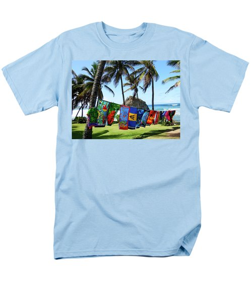 Men's T-Shirt  (Regular Fit) featuring the photograph The Colors Of Barbados by Kurt Van Wagner