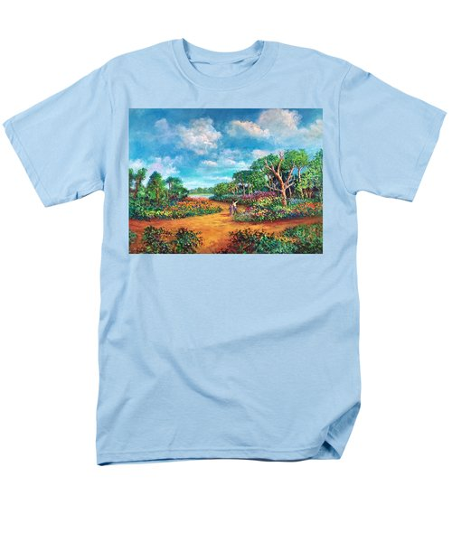 The Cycle Of Life Men's T-Shirt  (Regular Fit) by Randy Burns