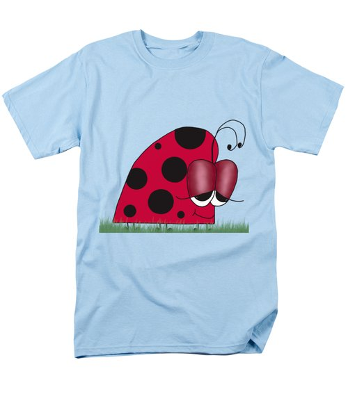 The Euphoric Ladybug Men's T-Shirt  (Regular Fit) by Michelle Brenmark