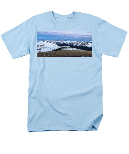 The Gore Range At Sunrise - Rocky Mountain National Park Men's T-Shirt  (Regular Fit) by Ronda Kimbrow