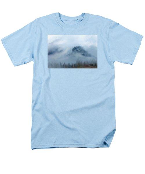 The Gorge In The Fog Men's T-Shirt  (Regular Fit) by Debra Baldwin