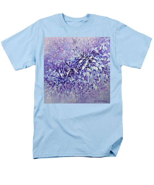 Men's T-Shirt  (Regular Fit) featuring the painting The Healing Power Of Amethyst by Joanne Smoley