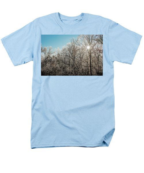 Men's T-Shirt  (Regular Fit) featuring the photograph The Ice Storm by Penny Lisowski