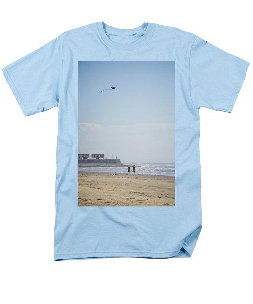 The Kite Fliers Men's T-Shirt  (Regular Fit) by Allen Sheffield