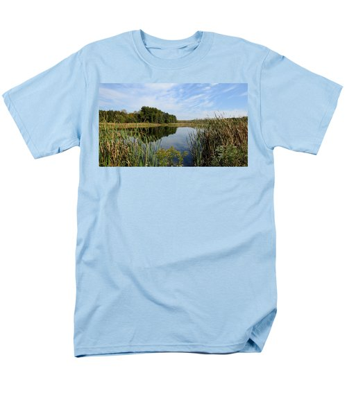 The Lake At Cadiz Springs Men's T-Shirt  (Regular Fit) by Kimberly Mackowski