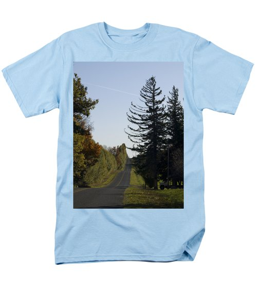 The Long Road Men's T-Shirt  (Regular Fit) by Tara Lynn