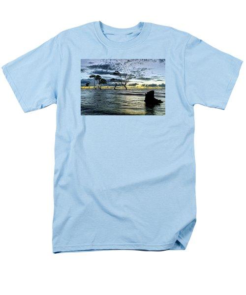 The Mangrove Trees Men's T-Shirt  (Regular Fit) by Robert Charity