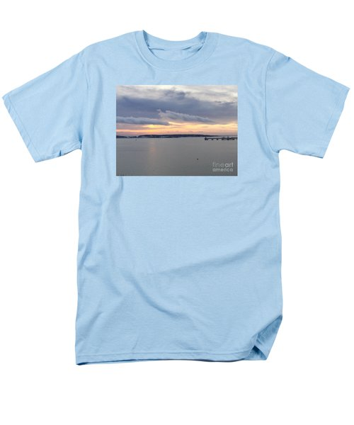The Opalescent Sunrise Is Unfurled Men's T-Shirt  (Regular Fit) by Patricia E Sundik