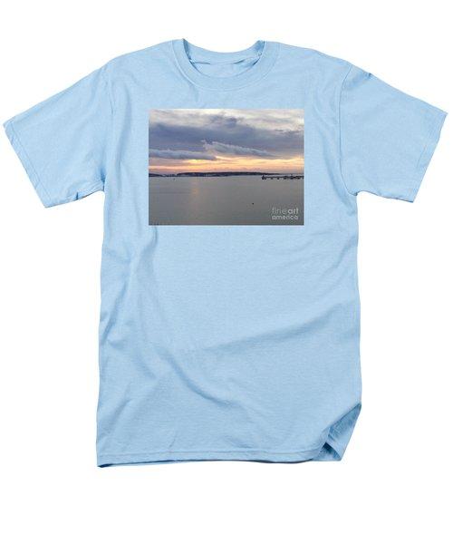 The Opalescent Sunrise Is Unfurled Men's T-Shirt  (Regular Fit)