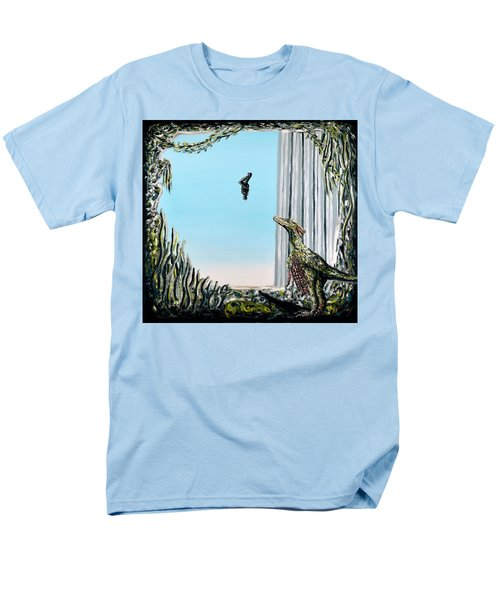 The Origin Of Species -a Recurring Pattern- Men's T-Shirt  (Regular Fit) by Ryan Demaree