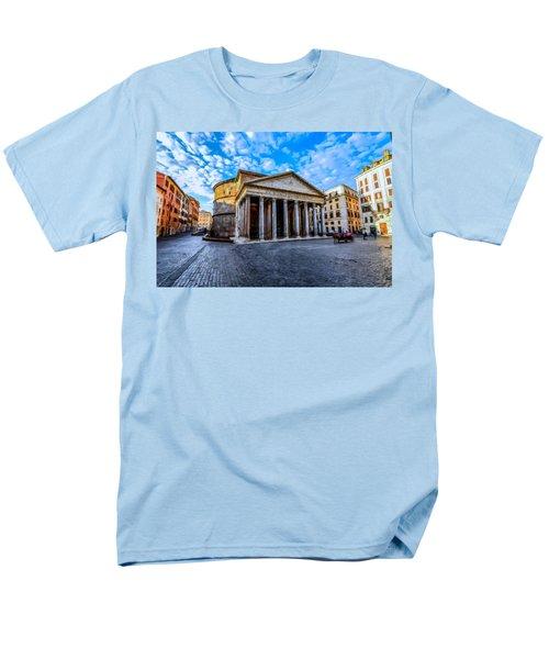 The Pantheon Rome Men's T-Shirt  (Regular Fit) by David Dehner