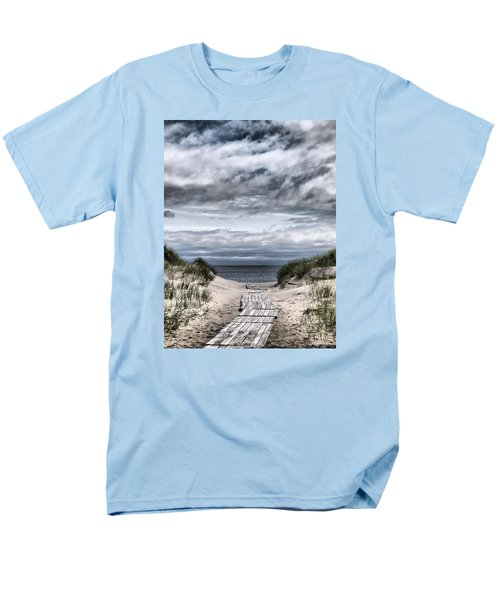 The Path To The Beach Men's T-Shirt  (Regular Fit) by Jouko Lehto