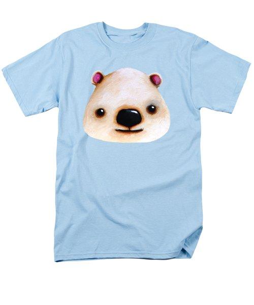 The Polar Bear Men's T-Shirt  (Regular Fit) by Lucia Stewart